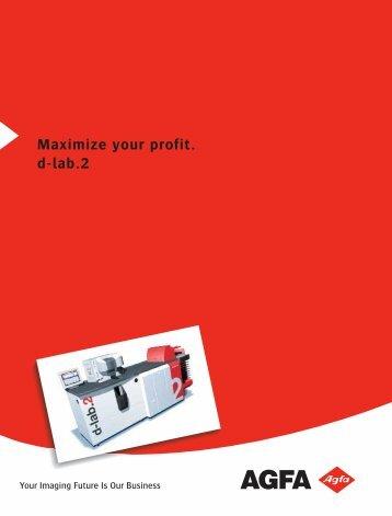 Maximize your profit. d-lab.2 - Serrano Rey