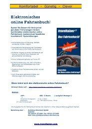 Elektronisches online Fahrtenbuch! - Autohaus Elmshorn