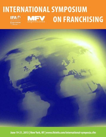Brochure - International Franchise Association