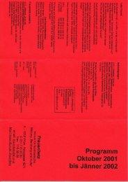 Oktober 2001-Januar 2002 - Frauenhetz