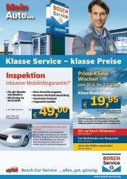 Bosch Car Service ...alles, gut, günstig. - Autohaus Radlmaier