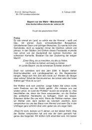 Bayern vor der Wahl - Freie Wähler Bayern
