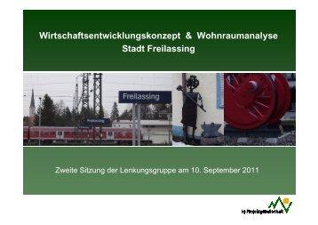 Informationen aus dem Fachbereich Wirtschaft - Stadt Freilassing