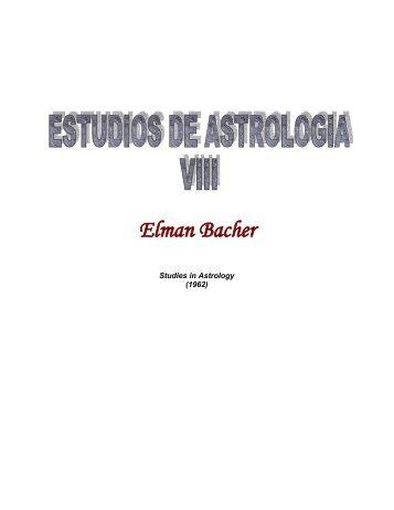 Estudios de Astrología - Volumen VIII