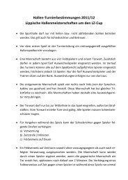 Hallen-Turnierbestimmungen 2011/12 Lippische ...