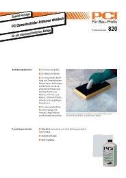PCI Zementschleier-Entferner alkalisch - Fliesen Lerche