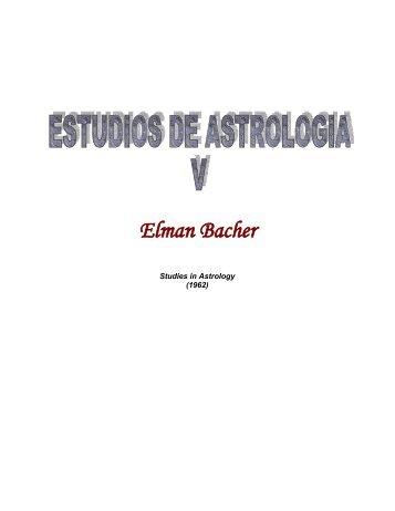 Estudios de Astrología - Tomo V