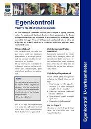 Egenkontroll