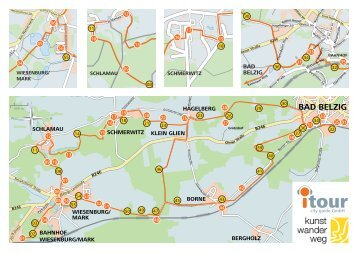 Faltblatt zur Audioführung (PDF, 780 KB) - Naturpark Hoher Fläming