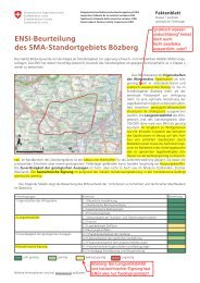 ENSI-Beurteilung des SMA-Standortgebiets Bözberg - fricktal24.ch