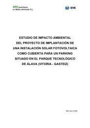 ESTUDIO DE IMPACTO AMBIENTAL DEL ... - Gazteaukera