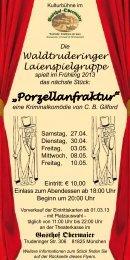 """Porzellanfraktur"" - Gasthof Obermaier"
