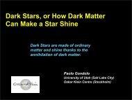Dark Stars, or How Dark Matter Can Make a Star Shine