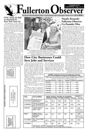 July - Fullerton Observer