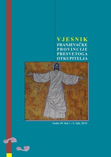 pdf format - Franjevačka provincija Presvetog Otkupitelja