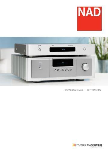 CATALOGUE nAd | EdiTiOn 2012 - France Marketing