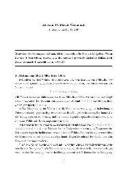 Klausur Politische Ökonomie - LMU