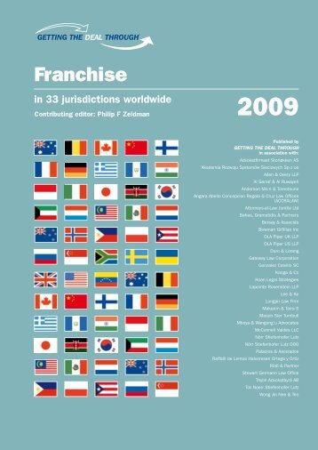 Franchising Laws - Puerto Rico - International Franchise Association
