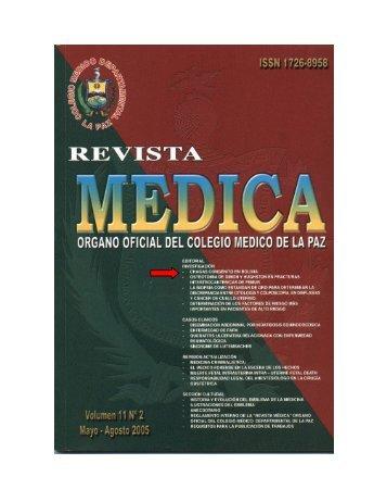 CHAGAS CONGNITO EN BOLIVIA - Galenored Internacional