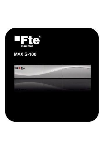 MAX S-100 - FTE Maximal