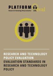 Evaluation Standards [PDF, 120.8 KB] - fteval