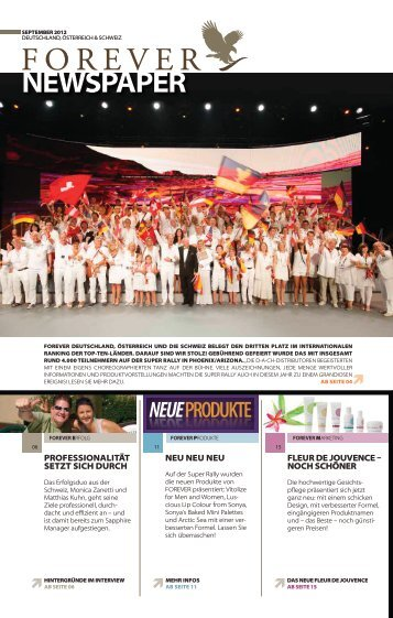 SEPtEMBER 2012 - Forever Living Products Austria
