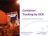 Container Tracking by OCR - Flanders Smart Hub