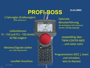 PROFI-BOSS Praxis - Fleischmann
