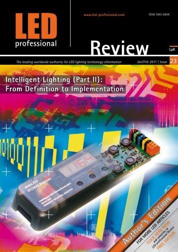 Intelligent Lighting (Part II) - Synapse Wireless