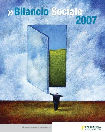 Bilancio Sociale 2007 - Gruppo Cariparma Crédit Agricole