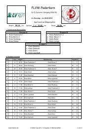 Drei Hasen Cup 2012 Ergebnisse - FLVW Kreis Paderborn