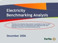 Electricity Benchmarking Analysis Report (web only) - Forfás