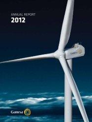 Annual Report 2012 - Gamesa