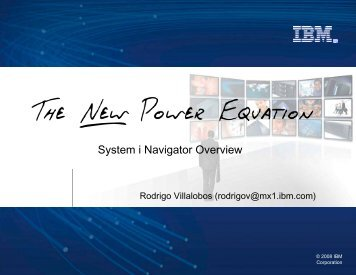 System i Navigator Overview - Gateway/400 Group