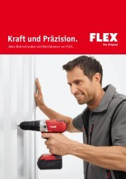 Schrauben und Bohren - FLEX