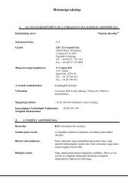 Insette dezodorok(REACH) - Galatea Kft.