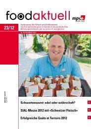 SIAL-Messe 2012 mit «Schweizer Fleisch ... - Foodaktuell.ch