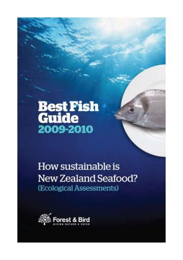 Best Fish Guide 2009-2010 - Forest and Bird