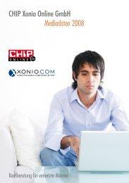 CHIP Xonio Online Gmbh Mediadaten 2008