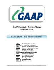 Back Office Training Manual - Module 4 (The Ordering System)