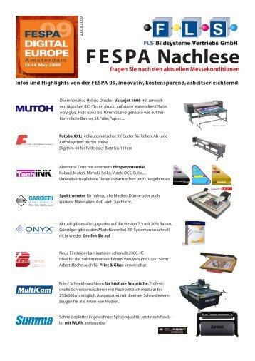 FESPA Nachlese