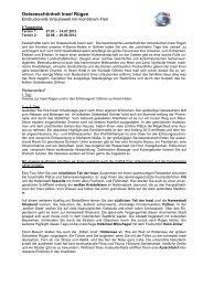 Info - Friedmann-Reisen