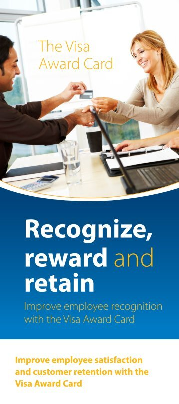 Recognize, reward and retain - FIS