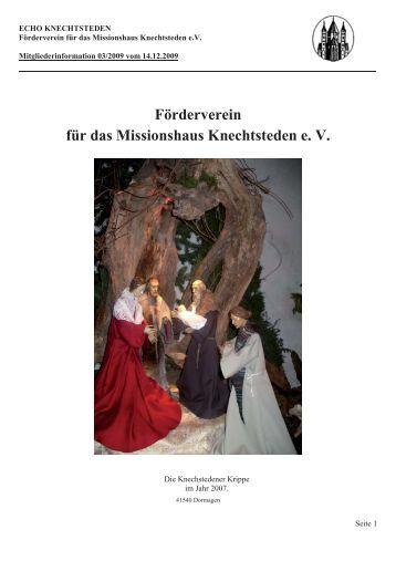 ECHO 3.09 Internetausgabe Version 28.12.2009 - Förderverein für ...