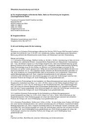 Ausschreibungstext Pontons - Tourismus und Congress GmbH