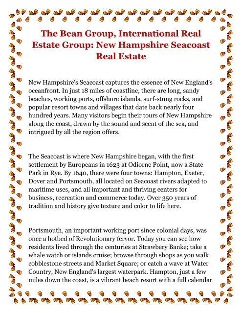 The Bean Group International Real Estate Group New Hampshire