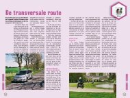 De transversale route