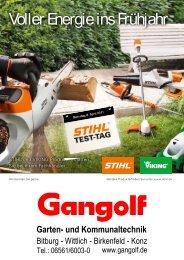 Garten- und Kommunaltechnik - Gangolf