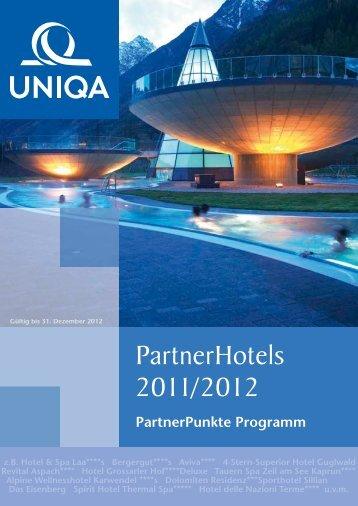 Partnerhotels 2011/2012