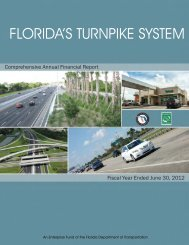 2012 - Florida's Turnpike